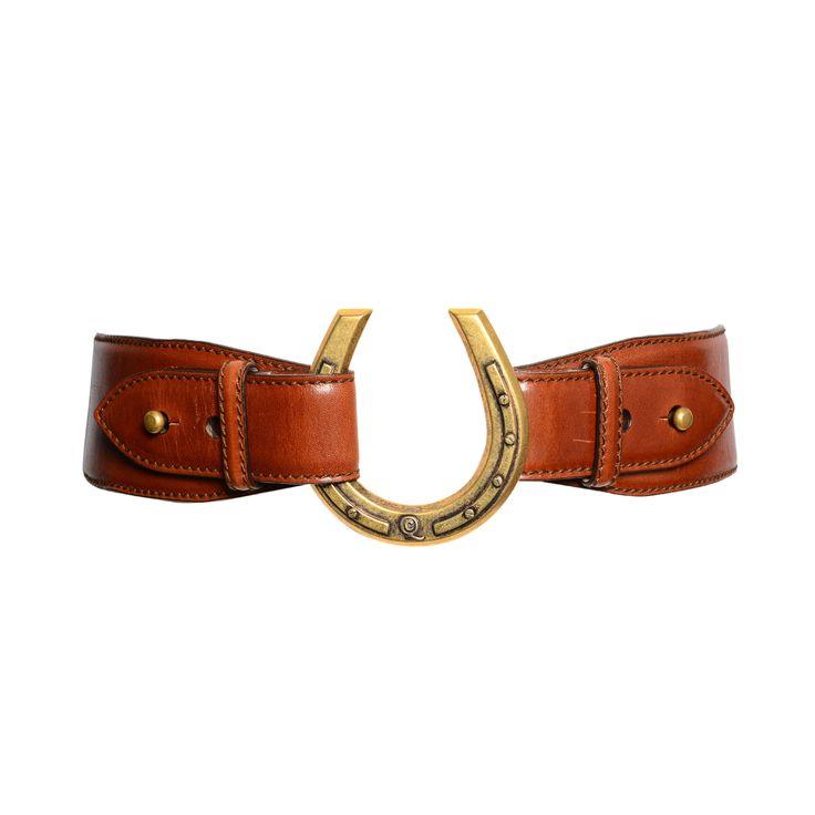Alexander McQueen Horseshoe Belt, 135 Euro.