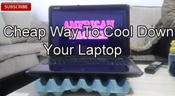 Truco para armar una base casera para refrigerar tu laptop