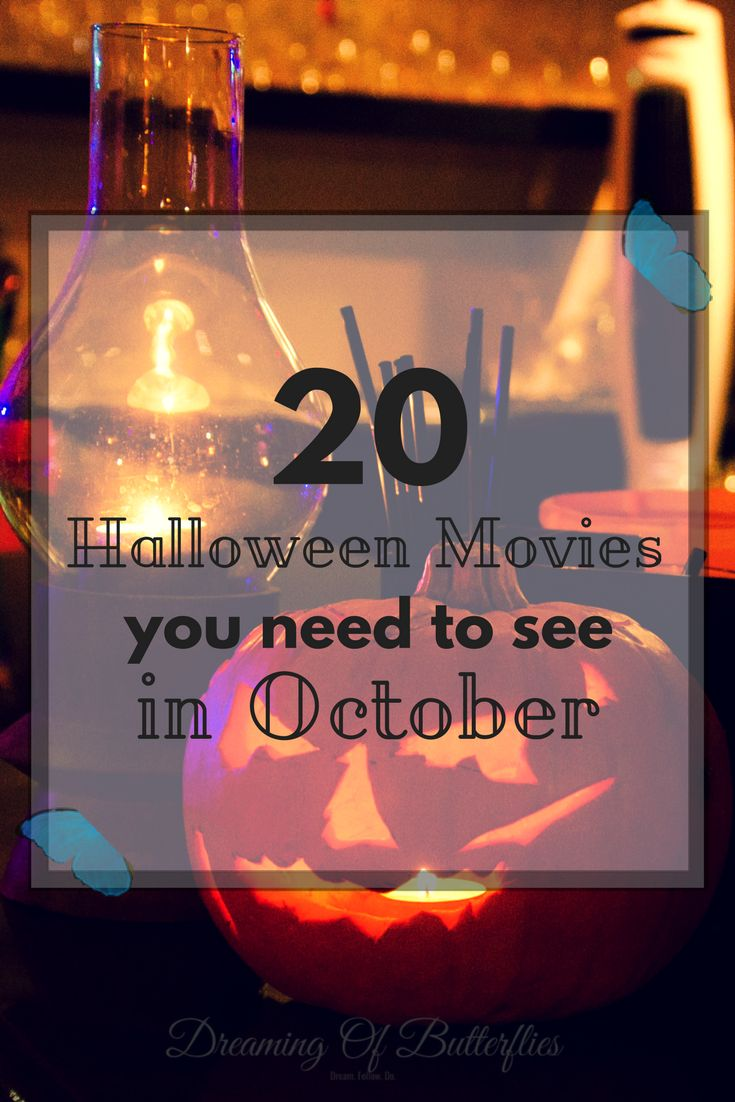 From horror to fun, to the classics, to Tim Burton movies, we're sharing the 20 Halloween Movies that are just perfect, and you most definitely need to watch in October, at least once in your life.