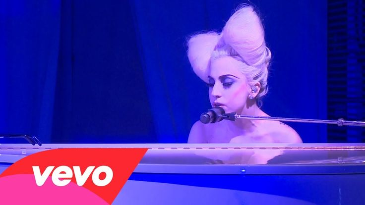 Lady Gaga - Speechless (Live At The VEVO Launch Event)....... I usually don't like lady G, but I LOVE this song