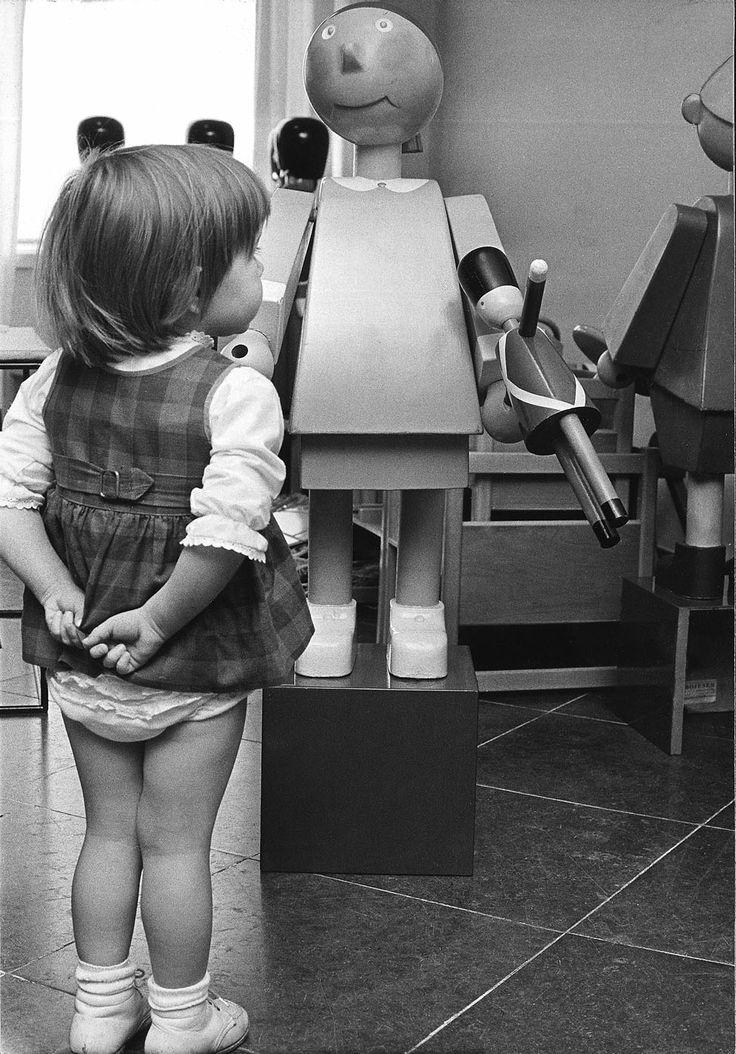 Granddaughter and owner of Kay Bojesen, Sus Bojesen, in front of her grandfather's work. Today, Sus works with her grandfather's design everyday as the CEO of Kay Bojesen Kay Bojesen Grand Prix cutlery / flatware. Danish Design