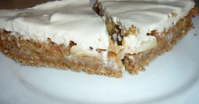 Jablecny cheesecake zdravý