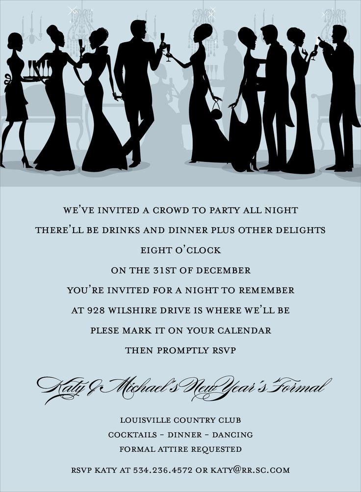 Best Formal Invites Images On   Invites Anniversary