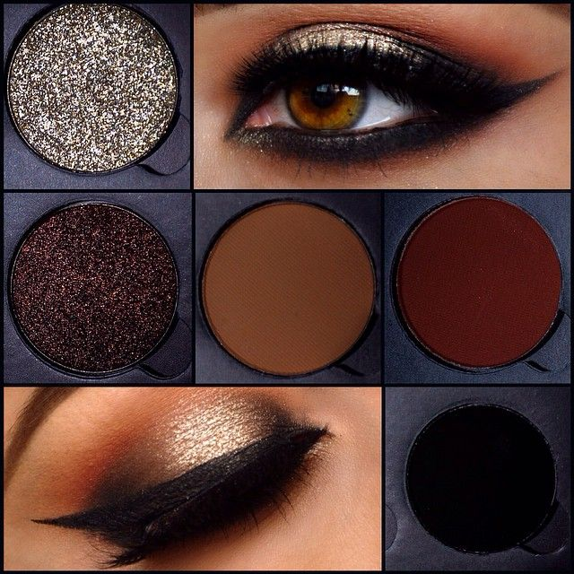 Quick little look I put together tonight using @anastasiabeverlyhills new eyeshadow singles #dailyfashforfashions