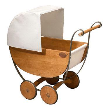 Wooden Stroller for Baby
