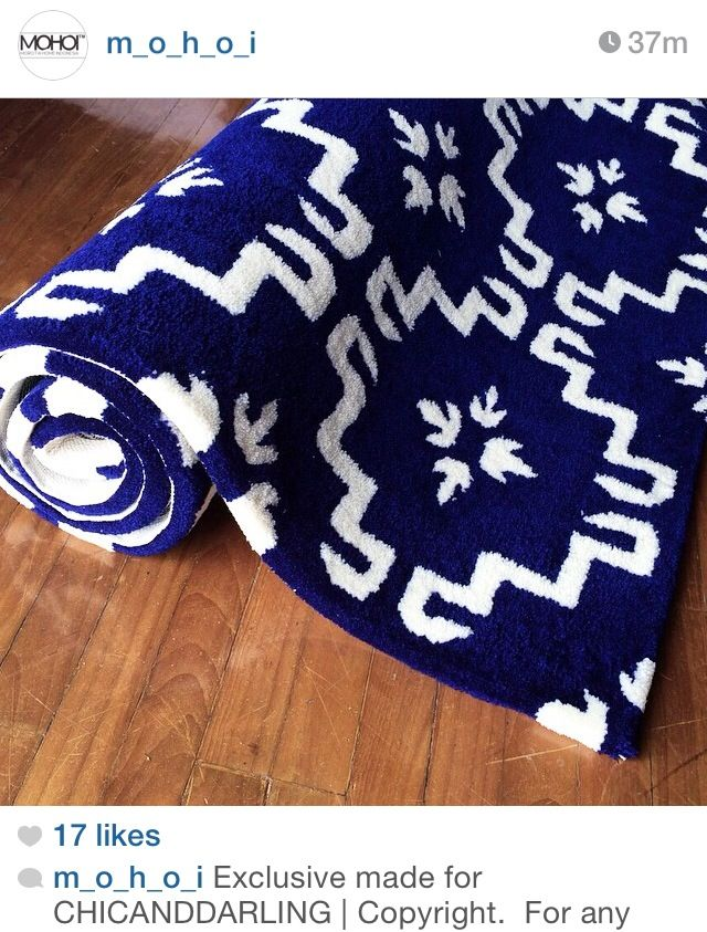Exclusive design for a client | MOHOI rug | hand tufted wool rug