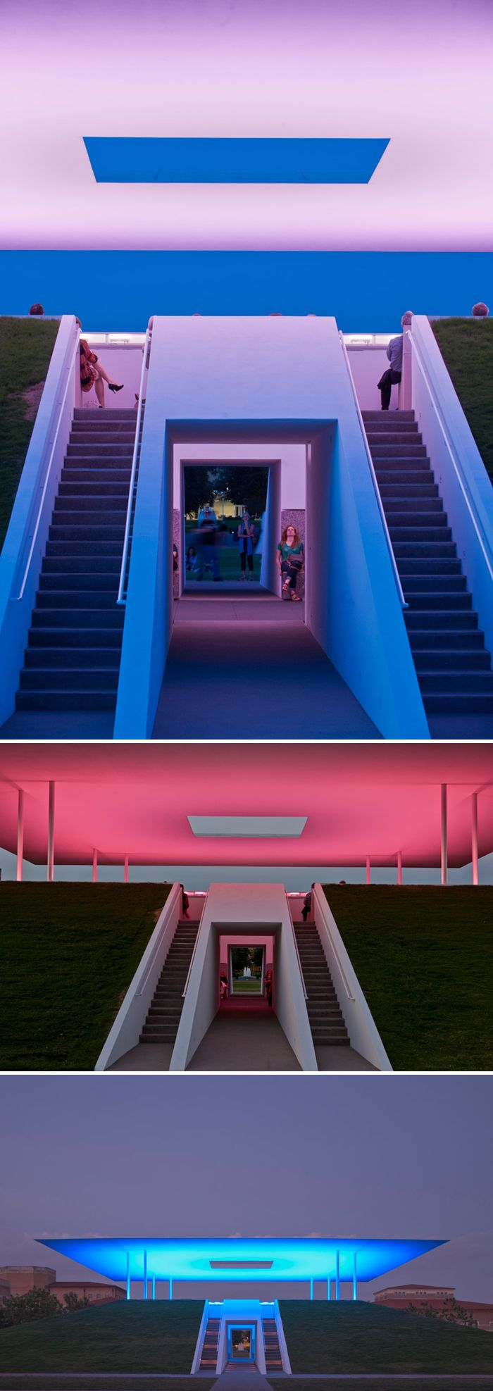 Twilight Epiphany by James Turrell at Rice University