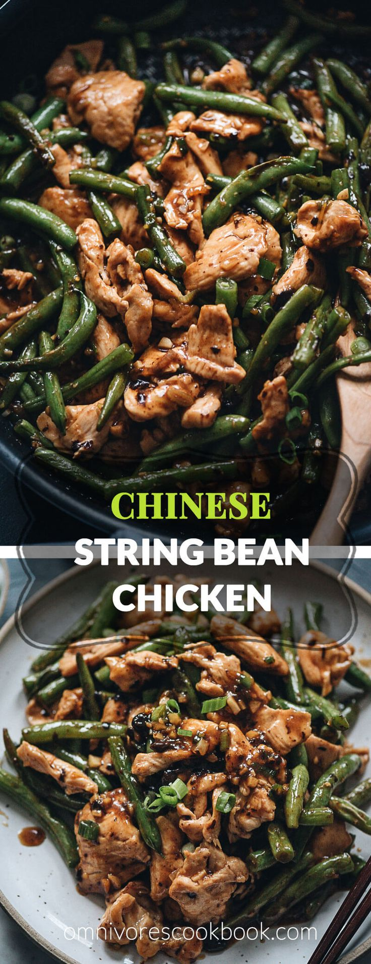 String bean chicken – This takeout string bean chicken is so easy to make and pe…