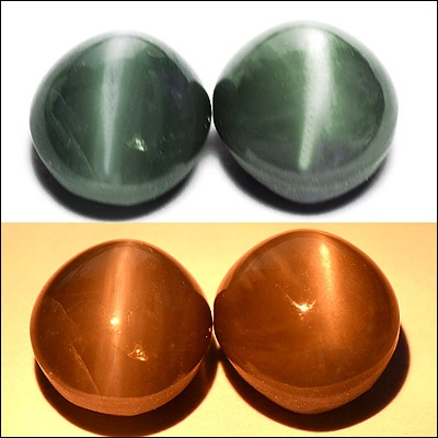 4.31 Carats RARE! NATURAL COLOR CHANGE ALEXANDRITE CATS EYE, Total Carat Weight: 4.31carat  Size (L,W,H):	7.19 X 6.53 X 4.90 Mm  Color: Green To Red  Shape: Oval, Clarity: VVS  Origin: Sri Lanka, Treatment: Unheated/Untreated.