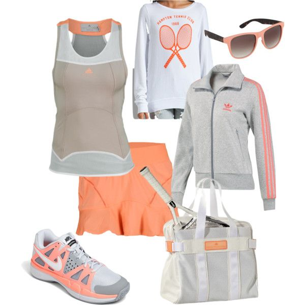 """""""tennis outfit"""" by lwilkinson on Polyvore"""