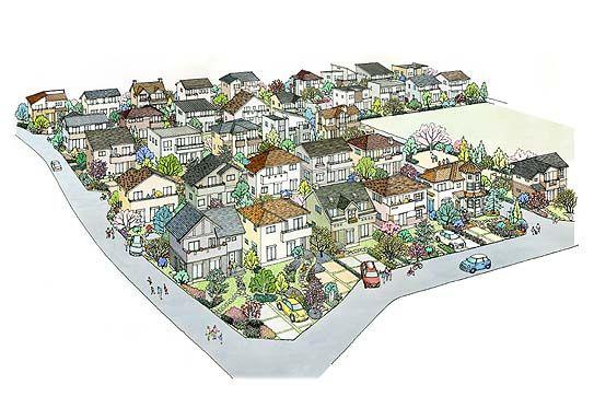 住宅地 パース Google 検索 パース 住宅 家
