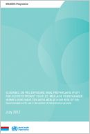 WHO | Guidance on oral pre-exposure prophylaxis (PrEP) for serodiscordant couples, men and transgender women who have sex with men at high risk of HIV