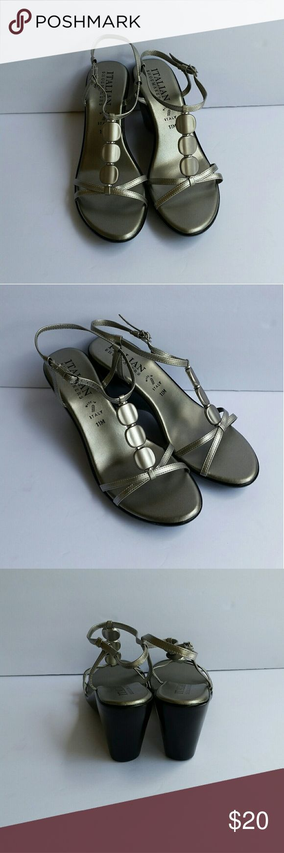 🌼Italian Shoemakers🌼Size 11 Name: Ameri. Brand: Italian Shoemakers.  Size: 11. New. No trades! Italian Shoemakers Shoes Wedges