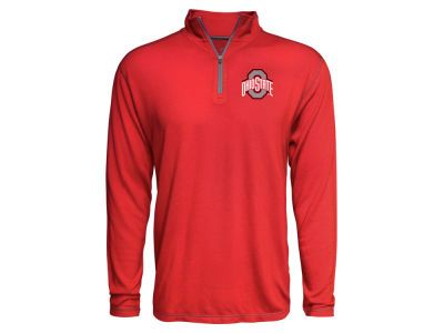 timeless design ca855 763a9 J America NCAA Men s Trisoft Quarter Zip Pullover Ohio State Buckeyes,  Valentine Gifts, Athletic