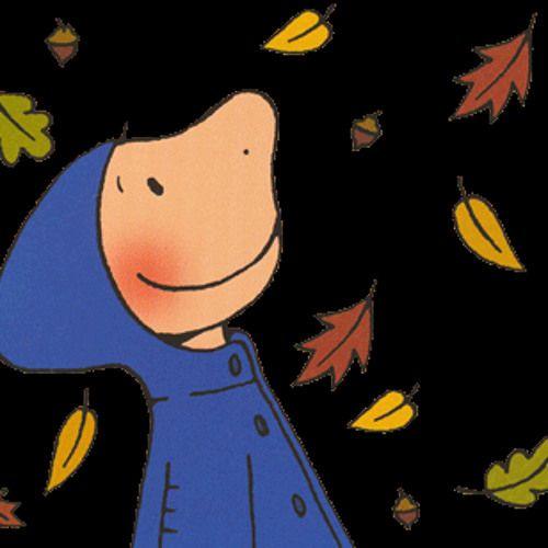 Een lied over de herfst Met 3 stemmen gezongen (Yves, de beer en Jules)   wierel warrel in het rond blaadjes vallen op de grond op mijn hoofd en in mijn hand ja het bos dat is plezant