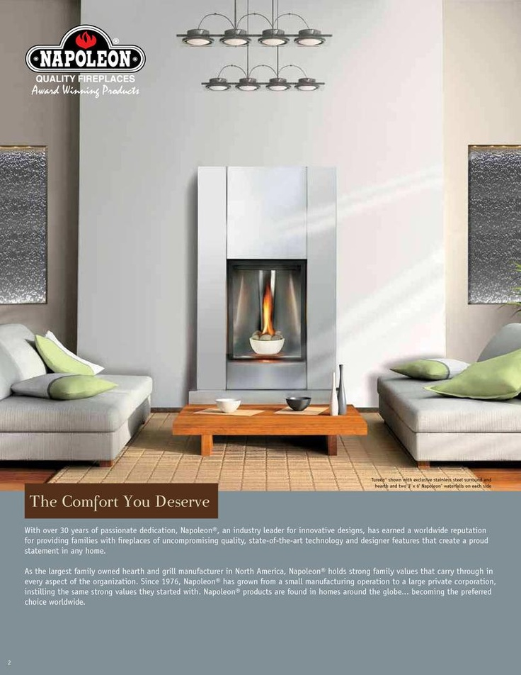 Modern Collection-Direct Vent Gas Fireplaces - Napoleon Fireplaces