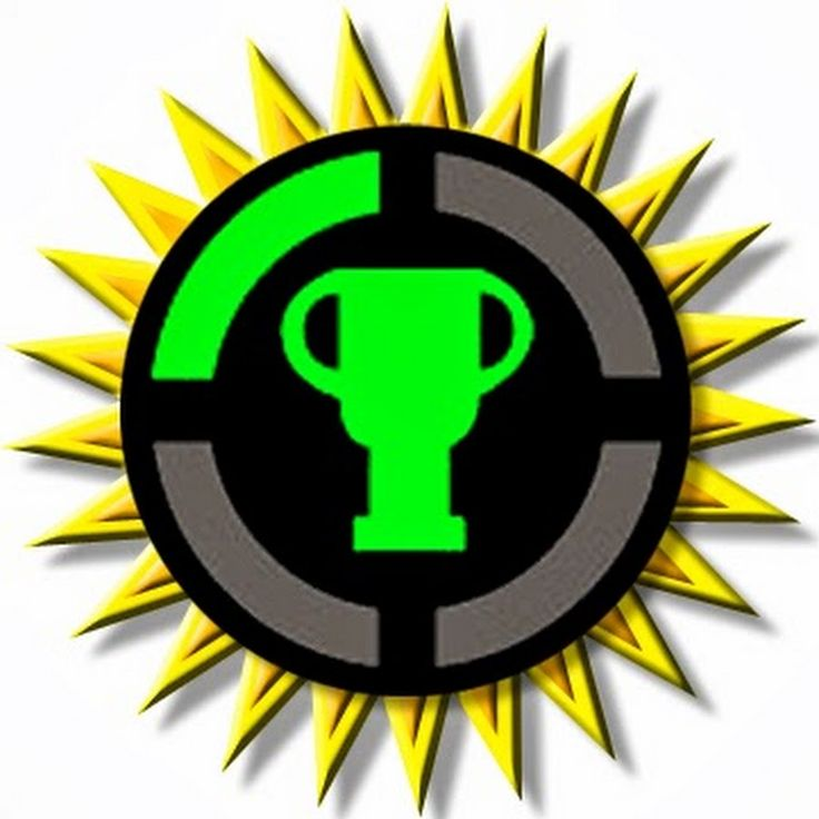 This is the logo of the YouTube channel Game Theory. Almost every week they post a video about a video game theory. Most theories on this channels are about Nintendo games, but they also have covered other games, such as Skyrim and Watch Dogs. Link to the channel: https://www.youtube.com/user/MatthewPatrick13