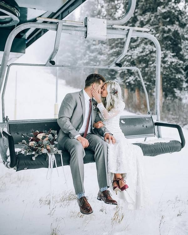 20 Stunning Winter Wedding Photography Ideas