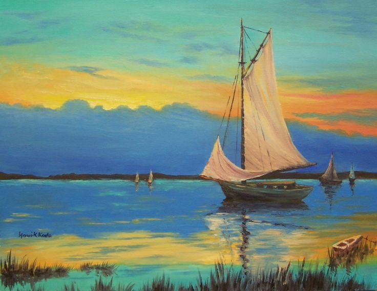 Sunset in Monterey Coastline -Sold