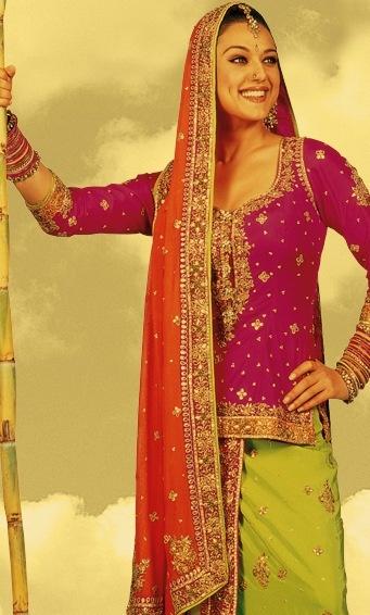 Preity Zinta in Veer-Zaara (2004) by Manish Malhotra