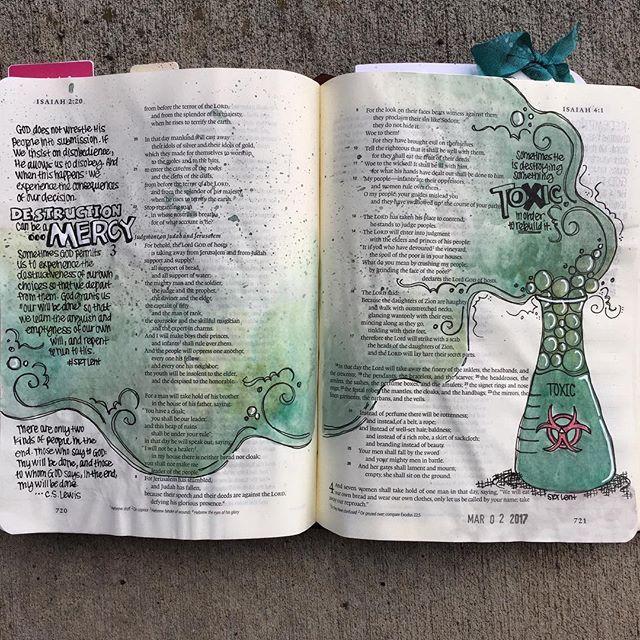 Isaiah 3&4,  / hopefulrobin