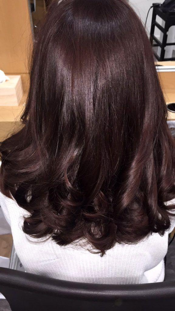 17 meilleures id es propos de cheveux rouge acajou sur pinterest les cheveux l 39 hiver les - Couleur bordeau en anglais ...