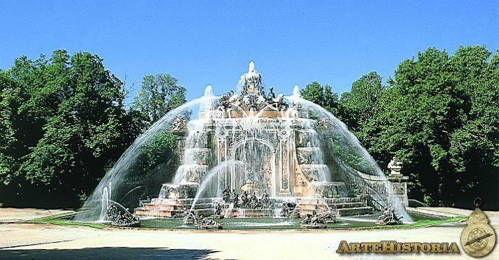Real Palacio (La Granja de San Ildefonso, Segovia). Fuente de los Baños de Diana