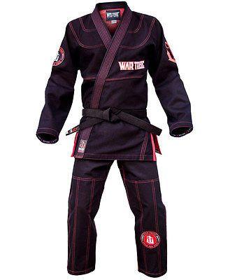 War Tribe Black Widow GI Jiu Jitsu Judo