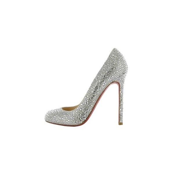 Scarpe da sposa 2010 di Christian Louboutin | Sposa Mania - Il... ❤ liked on Polyvore