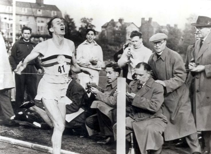 Roger Bannister Runs The First Sub-Four-Minute Mile - Until a 25-year-old medical student named Roger Bannister ran a mile in 3 minutes, 59.4 seconds, no human had ever accomplished the feat.*     *At least no one who was officially recognized, though there are a few pre-Bannister runners who made claims on a sub-four-minute mile.