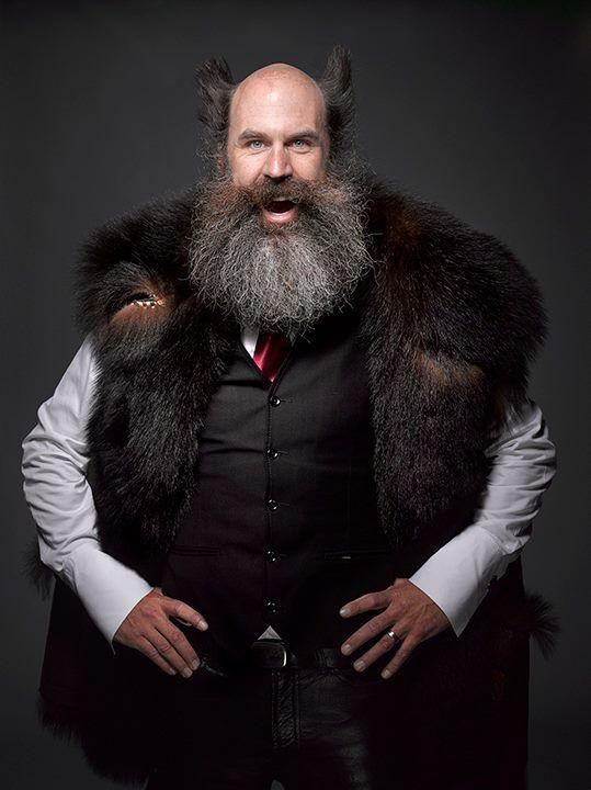 Barba estilo lenhador