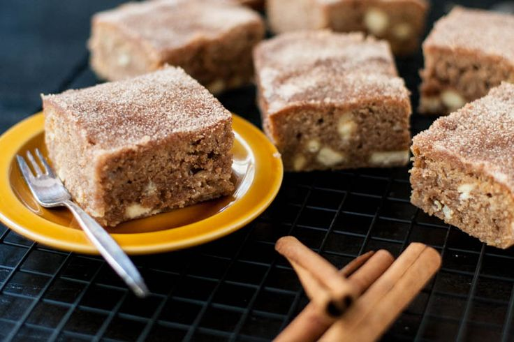 Kaneel Blondies | Ohmyfoodness | Bloglovin'