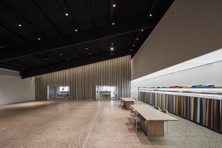 Kvadrat Headquarters transformed by designer Sevil Peach | Photo by Ed Reeve