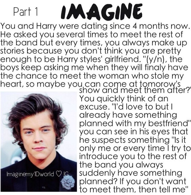 Harry imagine part1 | imagines | Pinterest | Harry ...