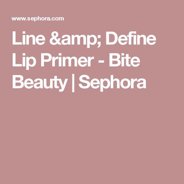 Line & Define Lip Primer - Bite Beauty | Sephora