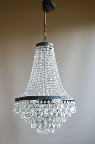 Elegant-Waterfall-Antique-French-Style-Crystal-Chandelier-Nouveau-lighting-Lamp
