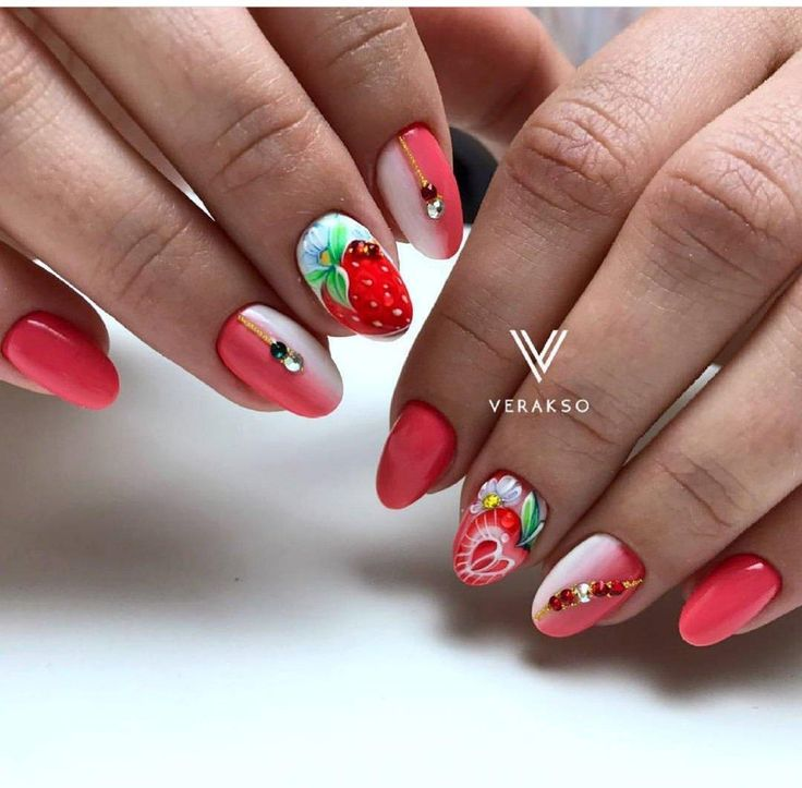 The 25 best strawberry nail art ideas on pinterest quirky diy the 25 best strawberry nail art ideas on pinterest quirky diy nails nail polish designs and strawberry art prinsesfo Images