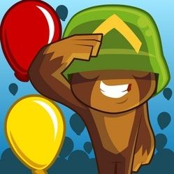 """Waves of bloons are coming to blow out the last defensive points of the mankind. You are a lord commander of the defensive tower, that has to be improved, upgraded and updated to stay competitive and fight for your freedom. """"Bloons Tower Defense 3"""" has been added to our website. To play the game follow this link: https://www.gungameshub.com/game/bloons-tower-defense-3/"""