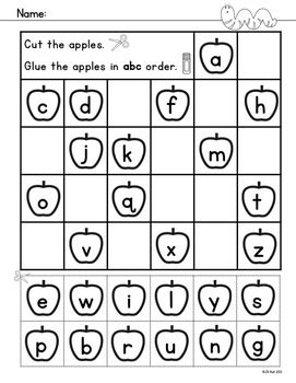 Printables Preschool Alphabet Worksheet 1000 ideas about alphabet worksheets on pinterest russian sample page apple a b c activities with an theme