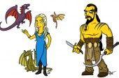 Juego de tronos Daenerys Simpson 600 x 400