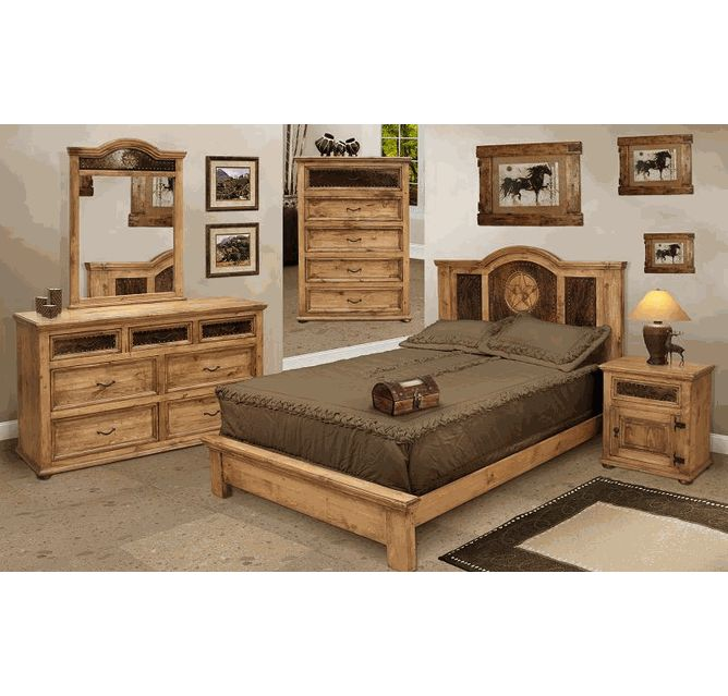 17 Best Ideas About Rustic Bedroom Furniture Sets On