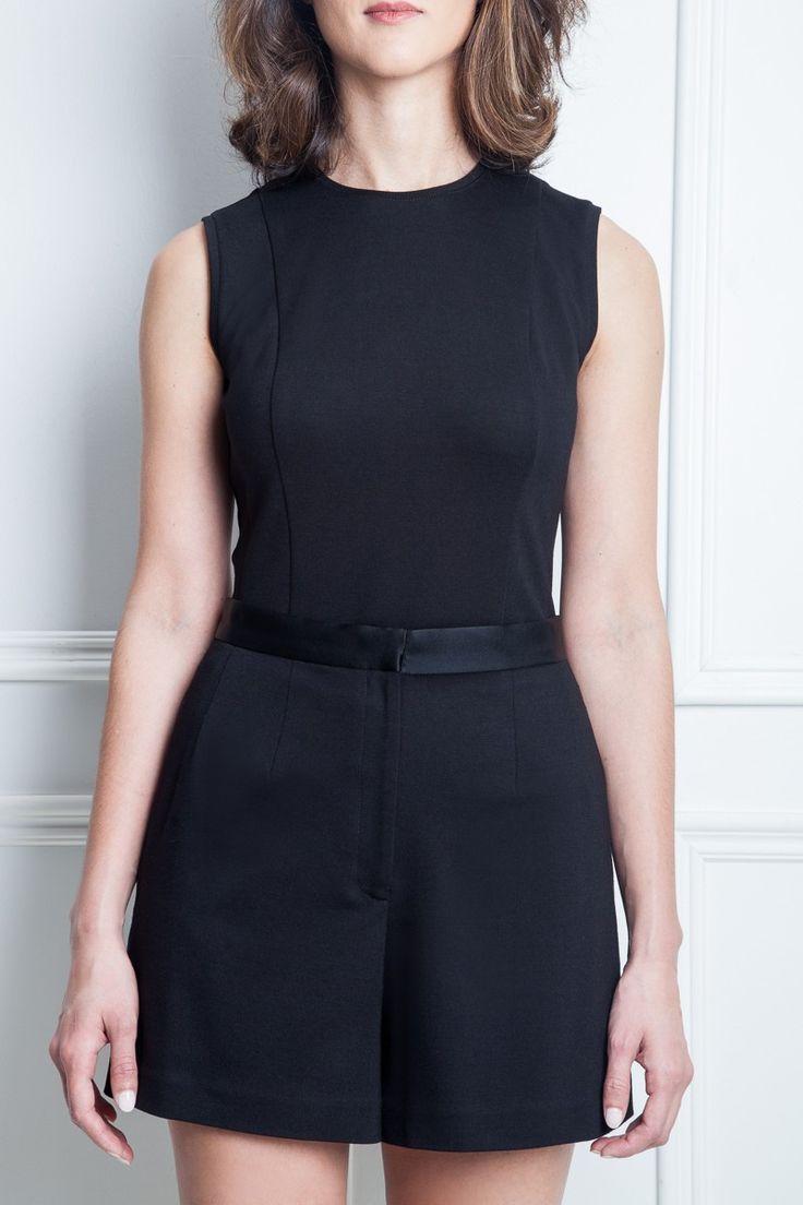 Les poupounes de luxe - Short Tuxedo disponible en taille 00 et 0 - prix régulier 145,00$