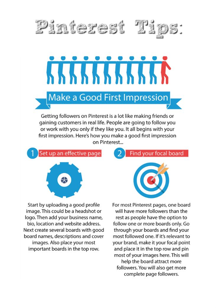 Here are a few Pinterest tips. Click on pin for more Pinterest tips.