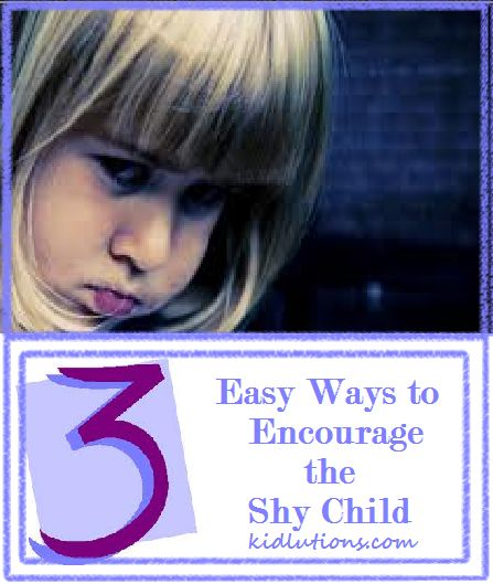 3 Easy Wasy to Encourage the Shy Child. Helping #Shy Children Soar #anxiety