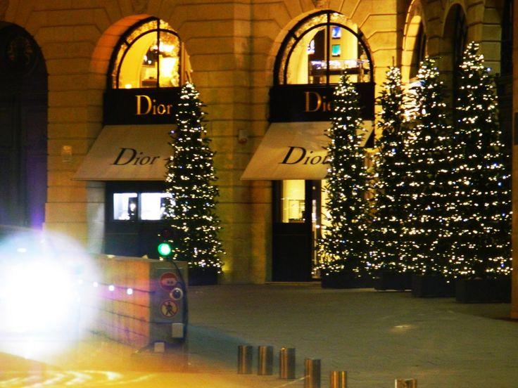 Dior, place vendome. Paris