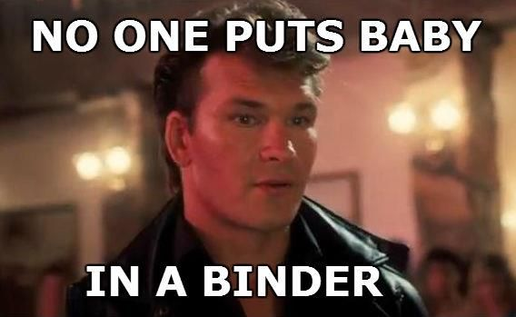Amusing memes from the second presidential debate: Binders full of women, and a job for Jeremy.