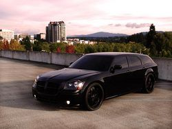 Dodge Magnum. Blacked Out. Beautiful...seen this and automatically knew my hubby pinned it lol