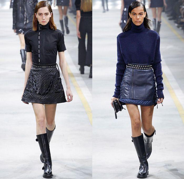 winter woman fashion 2016/2017 | Gold 2016-2017 Fall Autumn Winter Womens Runway | Denim Jeans Fashion ...