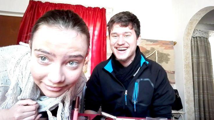 Boyfriend does my Makeup!!!