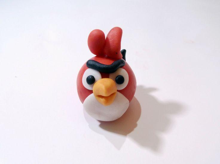 Jak ulepić czerwonego angry birdsa ?  How to do with modeling clay red a...